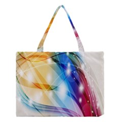 Colour Abstract Medium Tote Bag