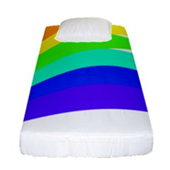 Rainbow Fitted Sheet (single Size)