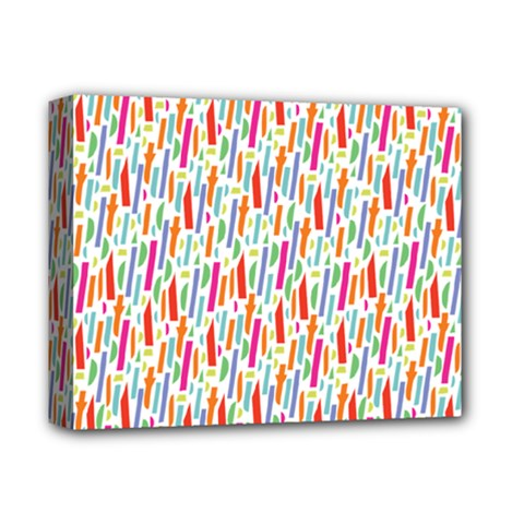 Splash Pattern Color Sign Deluxe Canvas 14  X 11  by Jojostore