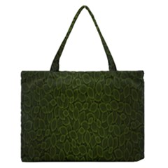 Leaves Dark Medium Zipper Tote Bag by Jojostore
