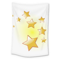 Star Gold Large Tapestry