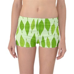 Spring Leaf Green Reversible Bikini Bottoms