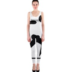 Cross Country Skiing Pictogram Onepiece Catsuit by abbeyz71