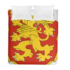 Shield Of Bulgaria  Duvet Cover Double Side (full/ Double Size) by abbeyz71