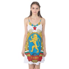 Coat Of Arms Of Bulgaria (1948-1968) Camis Nightgown by abbeyz71