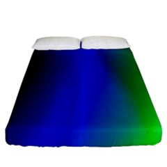 Graphics Gradient Colors Texture Fitted Sheet (king Size) by Nexatart