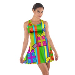 Holiday Gifts Cotton Racerback Dress by Nexatart