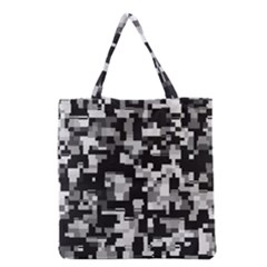 Noise Texture Graphics Generated Grocery Tote Bag by Nexatart