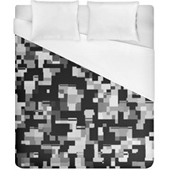 Noise Texture Graphics Generated Duvet Cover (california King Size) by Nexatart