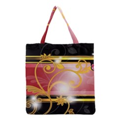 Pattern Vectors Illustration Grocery Tote Bag by Nexatart