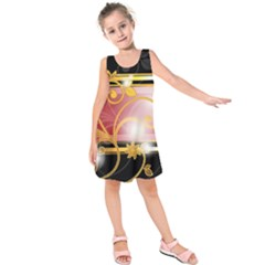 Pattern Vectors Illustration Kids  Sleeveless Dress by Nexatart