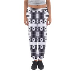 Pattern Background Texture Black Women s Jogger Sweatpants by Nexatart
