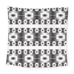 Pattern Background Texture Black Square Tapestry (large)