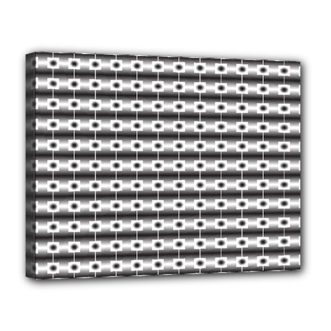Pattern Background Texture Black Canvas 14  x 11