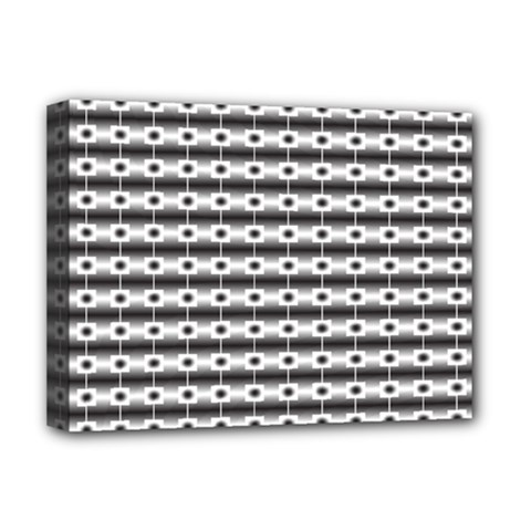 Pattern Background Texture Black Deluxe Canvas 16  x 12