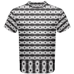 Pattern Background Texture Black Men s Cotton Tee