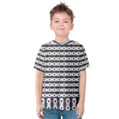 Pattern Background Texture Black Kids  Cotton Tee