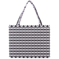 Pattern Background Texture Black Mini Tote Bag