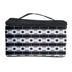 Pattern Background Texture Black Cosmetic Storage Case