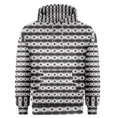Pattern Background Texture Black Men s Pullover Hoodie