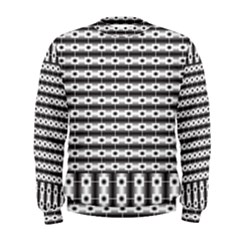 Pattern Background Texture Black Men s Sweatshirt