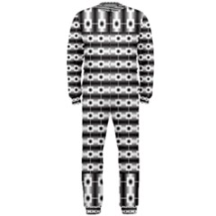 Pattern Background Texture Black OnePiece Jumpsuit (Men)