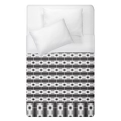 Pattern Background Texture Black Duvet Cover (Single Size)