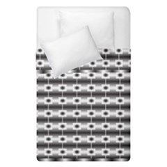 Pattern Background Texture Black Duvet Cover Double Side (Single Size)
