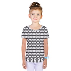 Pattern Background Texture Black Kids  One Piece Tee