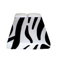 Seamless Zebra Pattern Fitted Sheet (full/ Double Size)