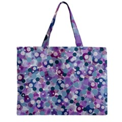 Decorative Bubbles Zipper Mini Tote Bag by Valentinaart