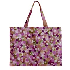 Colorful Bubbles Zipper Mini Tote Bag by Valentinaart