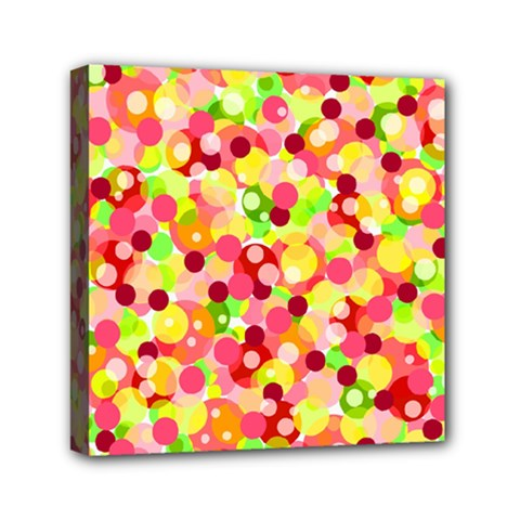 Playful Bubbles Mini Canvas 6  X 6  by Valentinaart