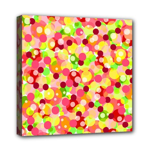 Playful Bubbles Mini Canvas 8  X 8  by Valentinaart