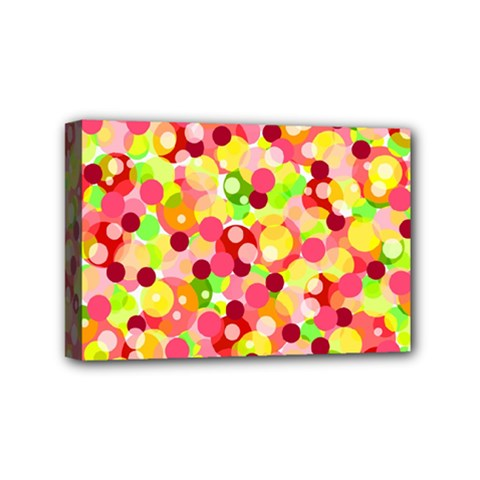 Playful Bubbles Mini Canvas 6  X 4  by Valentinaart