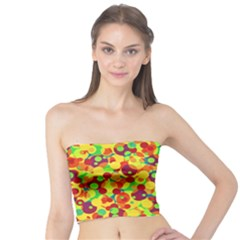 Bubbles Pattern Tube Top
