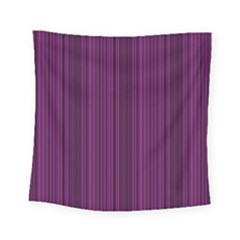 Deep Purple Lines Square Tapestry (small)