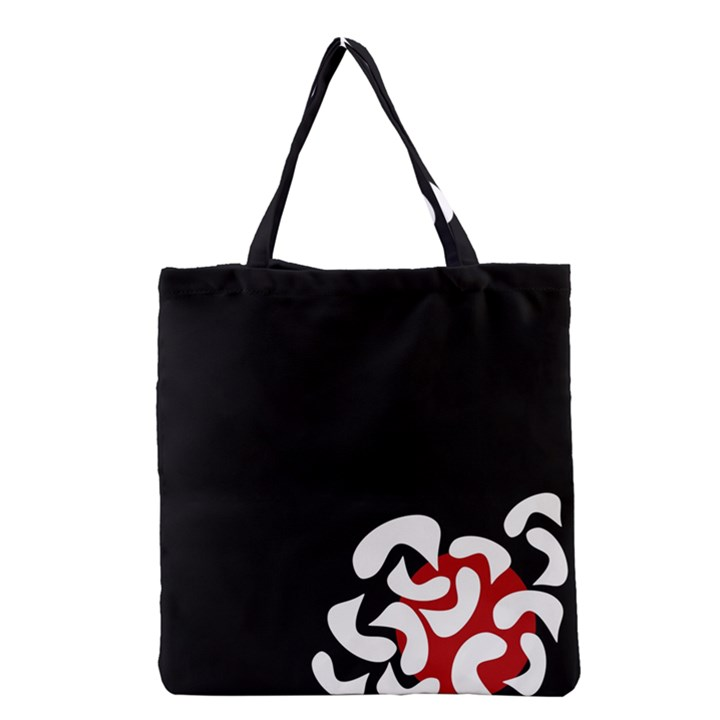 Elegant abstraction Grocery Tote Bag