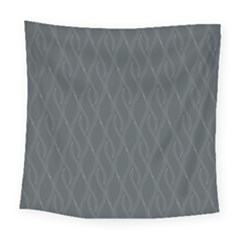 Gray Pattern Square Tapestry (large) by Valentinaart