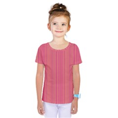 Elegant Lines Kids  One Piece Tee