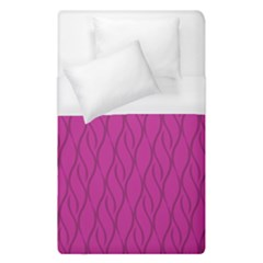 Magenta Pattern Duvet Cover (single Size) by Valentinaart