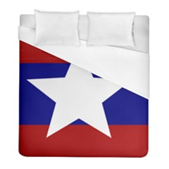 Flag Of The Bureau Of Special Operations Of Myanmar Army Duvet Cover (full/ Double Size) by abbeyz71