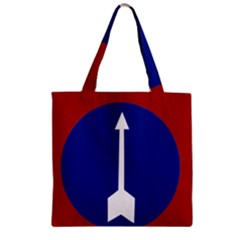 Flag Of Myanmar Army Northern Command  Zipper Grocery Tote Bag by abbeyz71