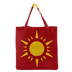 Flag Of Myanmar Army Northeastern Command Grocery Tote Bag by abbeyz71