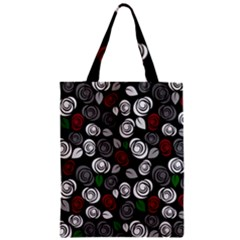 Elegant Roses Design Zipper Classic Tote Bag by Valentinaart
