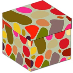 Pattern Design Abstract Shapes Storage Stool 12   by Nexatart