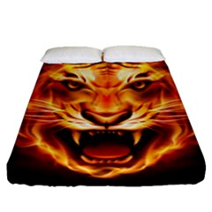 Tiger Fitted Sheet (queen Size)