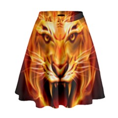 Tiger High Waist Skirt