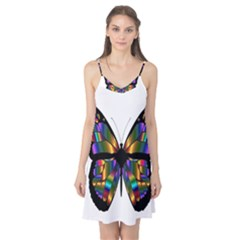 Abstract Animal Art Butterfly Camis Nightgown