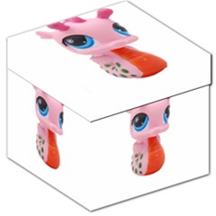 Dragon Toy Pink Plaything Creature Storage Stool 12   by Nexatart